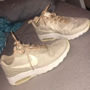 tan nike shoes